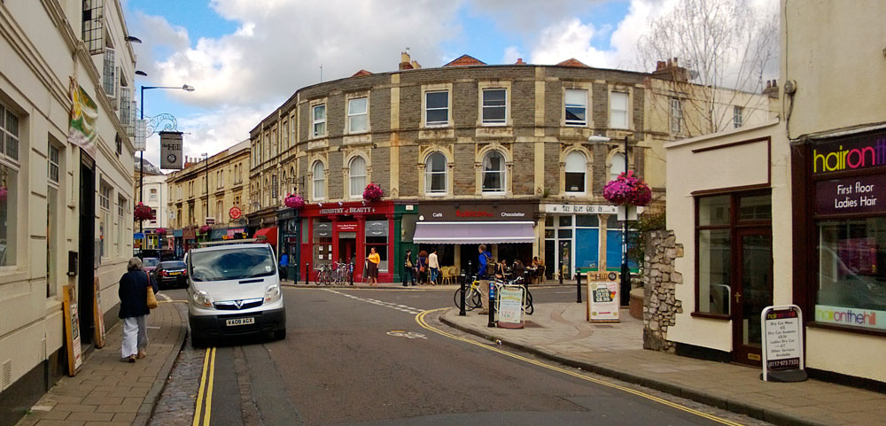 Cotham Hill has a range of shops, cafes and bars on the edge of Cotham