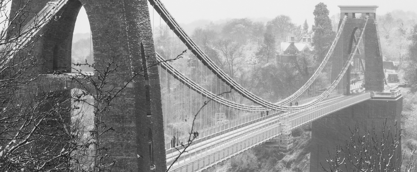 bristol winter events 2016 christmas snow clifton suspension bridge