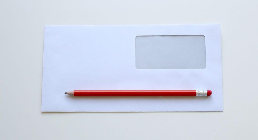 late rent arrears envelope pencil rent rental renting landlord lowdown