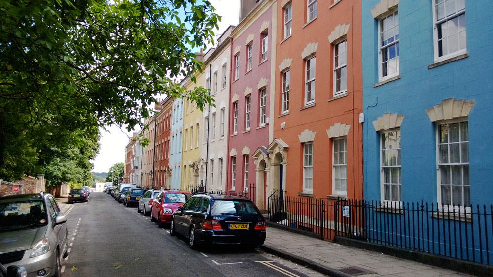 Colourful housing: Kingsdown is an attractive place to consider residential lettings