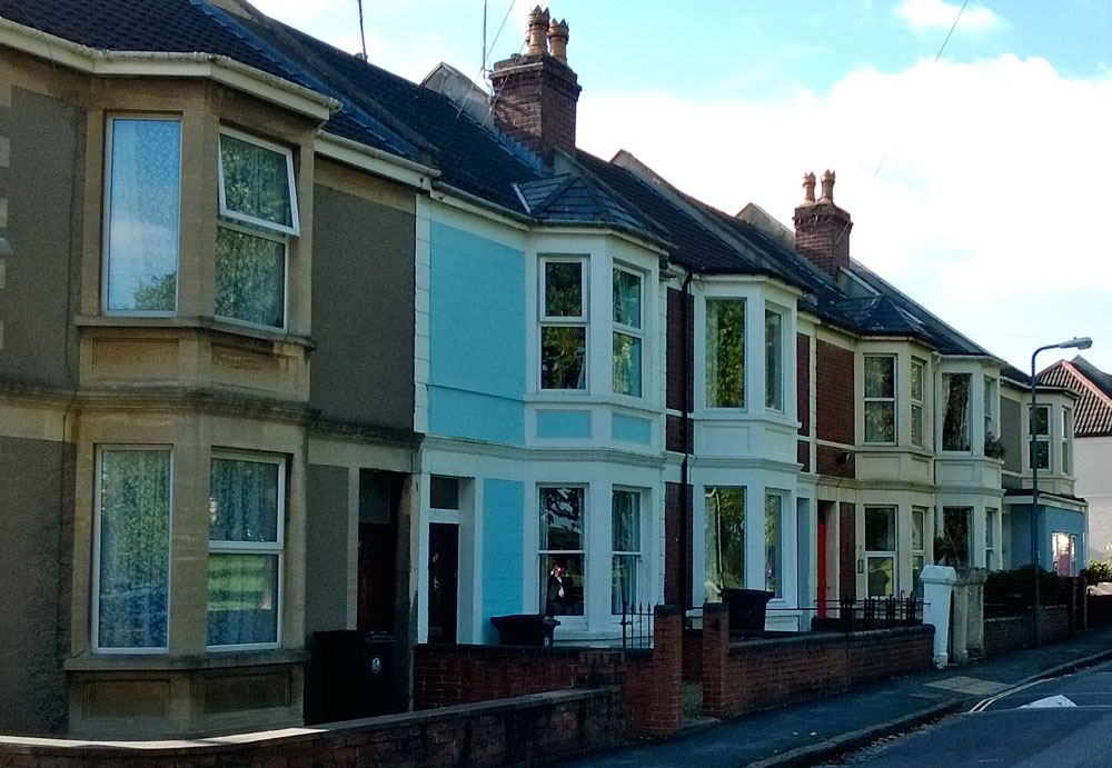 Bedminster Victorian Houses