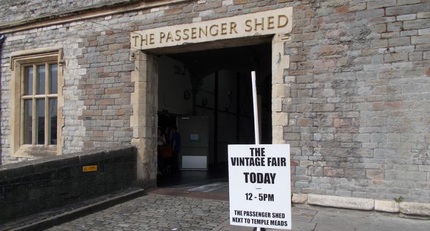bristol winter events christmas 2016 passenger shed vintage fair